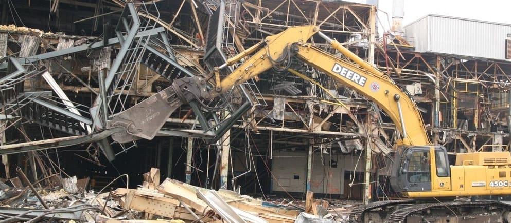Демонтаж металлоконструкций в СПБ