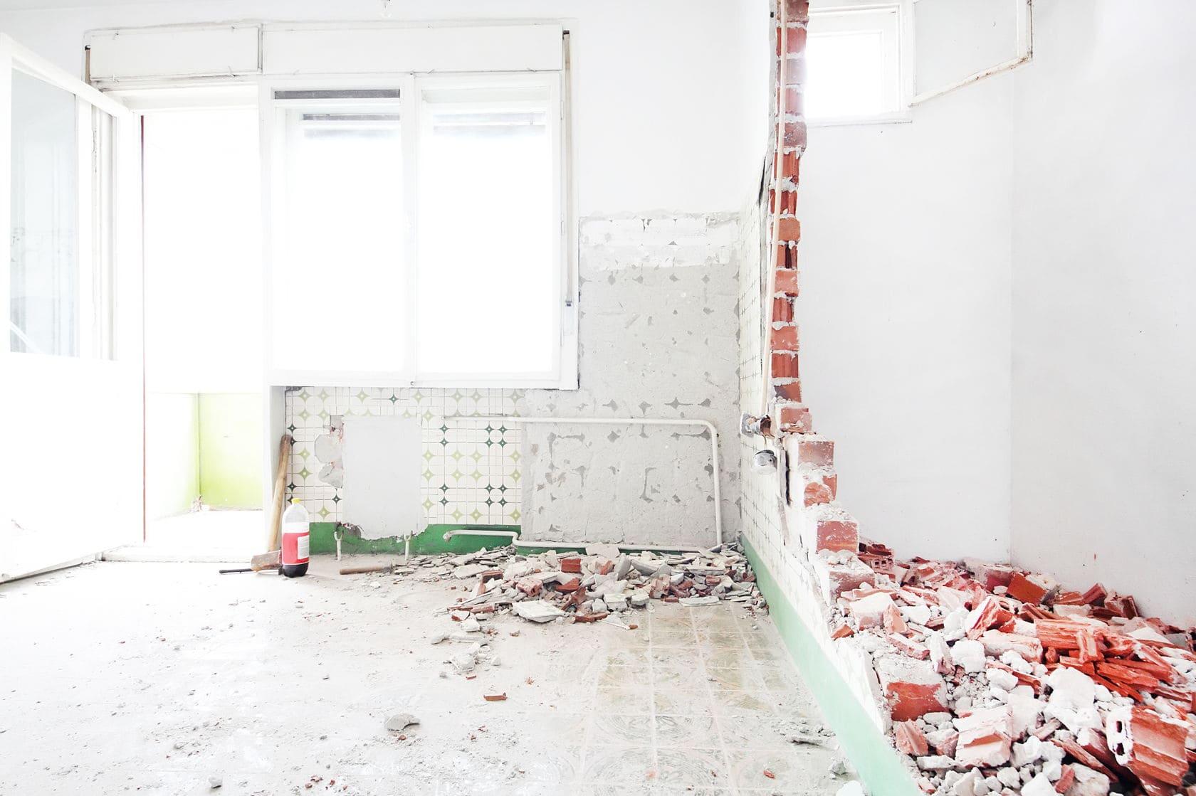 демонтируем внутри квартир