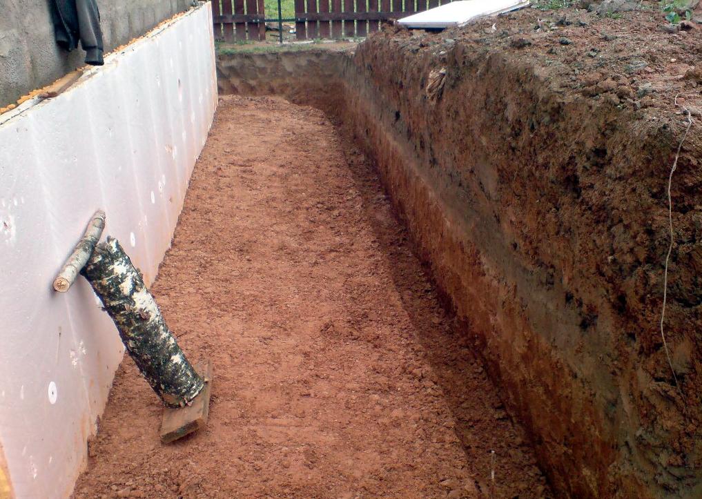 Удалить верхний слой глины