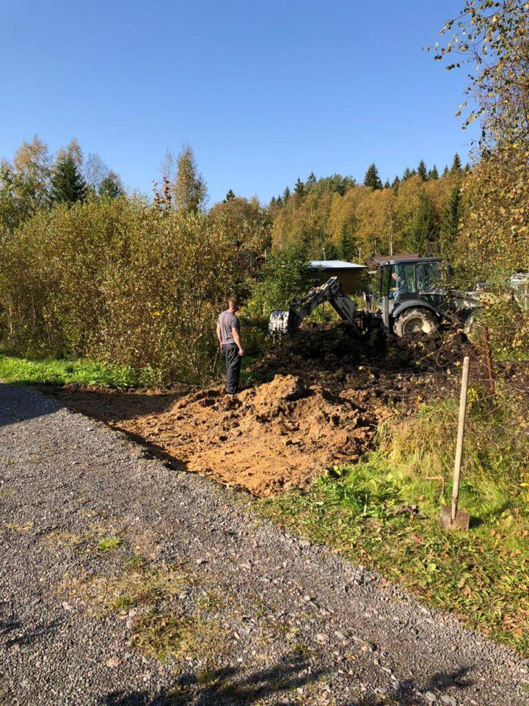отсыпка дорог в Лен области